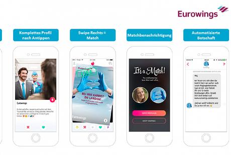 Eurowings busca ampliar su tripulación a través de Tinder