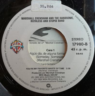 Marshall Crenshaw -Someday, Someway 7