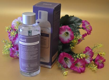 """Supple Preparation Unscented Toner"" – el nuevo lanzamiento de KLAIRS (From Asia With Love)"