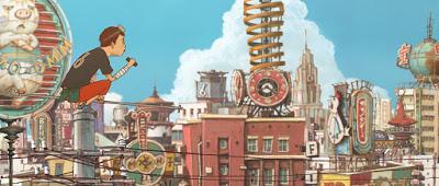 En defensa de la Ciudad Tesoro, de Michael Arias. Gatos ciberpunk