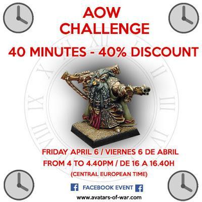 Avatars of War: 40& de dto durante 40 minutos (Solo mañana 6 de Abril)