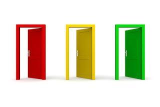 Buscando cole: Puertas (semi) abiertas
