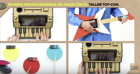 Descubre cómo inventar tu propia guitarra con el taller Toy-Con de Nintendo Labo