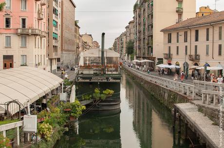 Navigli barrios Milán turismo viaje Italia canales ciudades