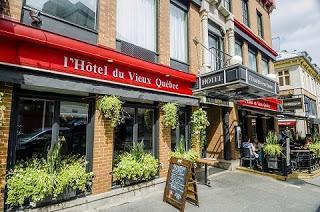 Hôtel du Vieux-Québec, a los pies del castillo