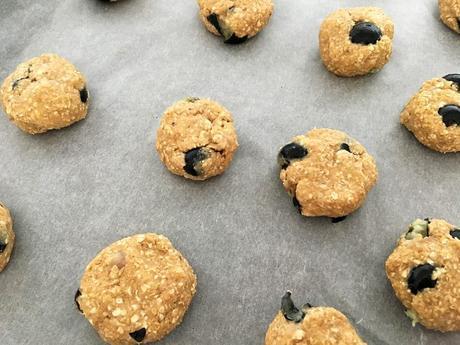recetas delikatissen Oatmeal blueberry cookies galletas rápidas galletas fáciles galletas de copos de avena galletas de avena galletas de arándanos galletas con fruta galletas caseras