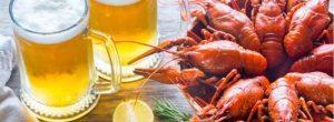 Reacción adversa a mariscos y alcohol