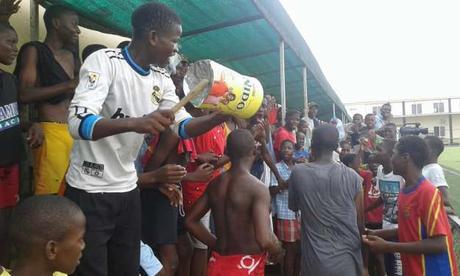 Victorias de la Escuela de Fútbol Base AFA Angola