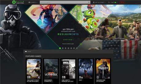Razer lanza su tienda de videojuegos con varios descuentos y sistema de recompensa