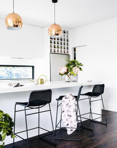 Una casa en Melburne con atmósfera fresca y primaveral