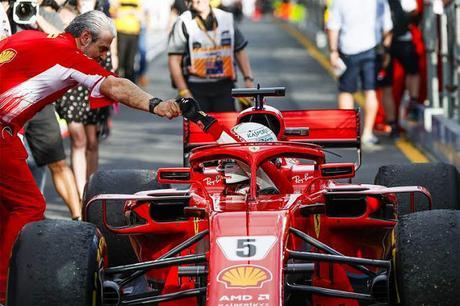Vettel está unido nunca Ferrari: