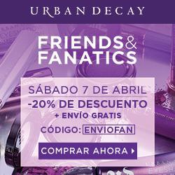 FRIENDS AND FANATICS DE URBAN DECAY