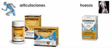 Complementos Alimenticios de Litomove para Huesos y Articulaciones.