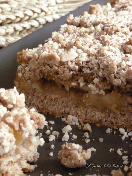 Pastel de Manzana con Espelta