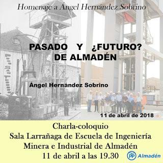 Charla-Coloquio Pasado y ¿Futuro? de Almadén