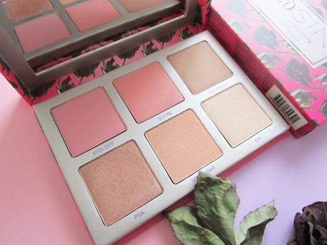 SIN Afterglow Palette Highlighter and Blush de Urban Decay