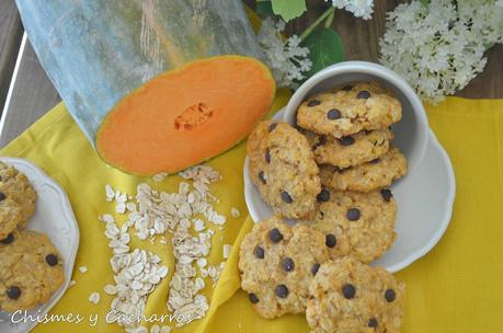 Cookies de avena y calabaza