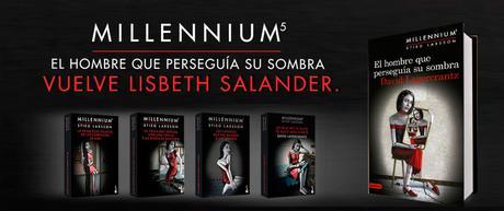 los 5 libros de la saga millenium