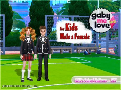 GML's School Uniforms ~ Kids.