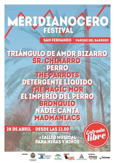 [Noticia] Cartel del Meridianocero Festival 2018