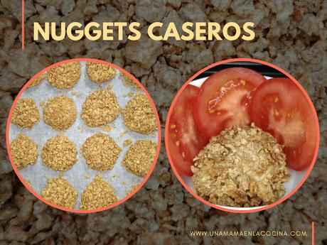 Receta de nuggets de pollo caseros al horno
