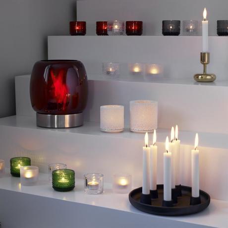 velas tea light portavelas Kivi portavelas Kastehelmi portavelas iittala diseño finlandés accesorios decoración