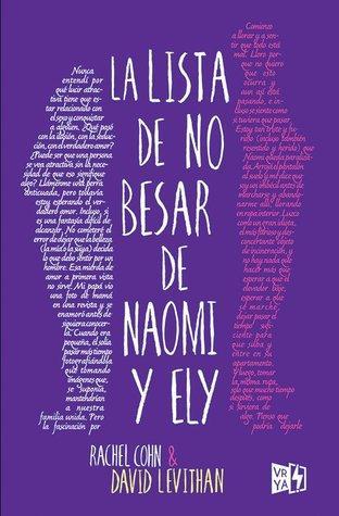 Reseña: La lista de no besar de Naomi y Ely |  Rachel Cohn, David Levithan