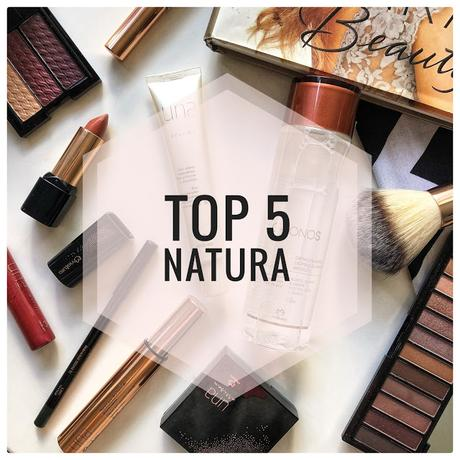 TOP 5 NATURA COSMÉTICOS