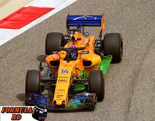 McLaren culmina el viernes en Sakhir en el top 10 | Esperan mejorar mañana