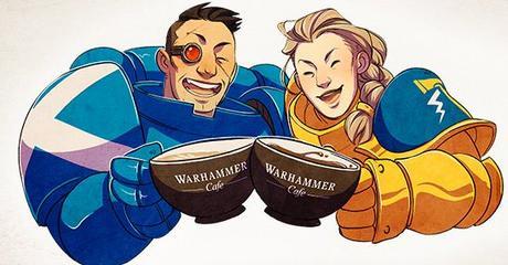 Warhammer Community, resumen: Termitas, café y exposiciones