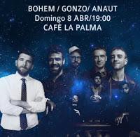 El Hombre que se enamoró de la luna en Café la Palma
