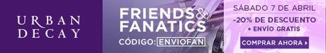 Vuelve de Nuevo el Friends & Fanatics Day de Urban Decay