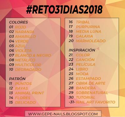 BLANCO Y NEGRO    |        #RETO31DIAS2018 NAIL ART