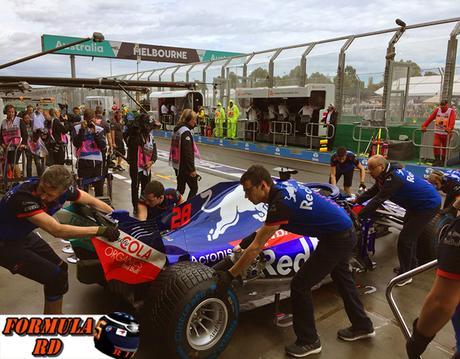 Carlos Sainz dijo haberse sorprendido por el mal ritmo de Toro Rosso en Australia