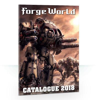 Catálogo 2018 de Forge World en PDF