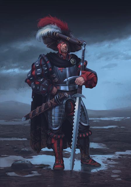 Zweihänder RPG: Ilustraciones y sombreros con premio.