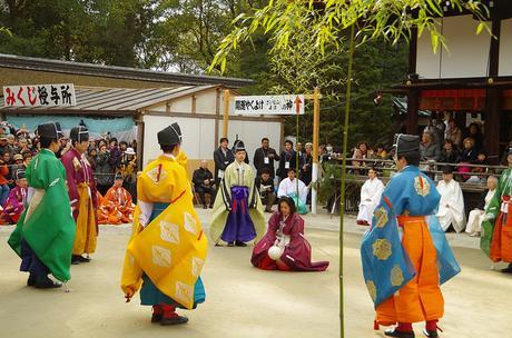 Kemari, el antiguo fútbol japonés