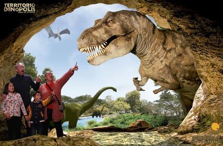 Territorio Dinopolis en Teruel. El parque de los dinosaurios.