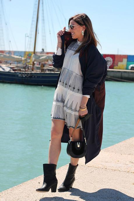 mini boho dress