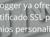 Blogger habilita redireccionamiento HTTPS para dominios personalizados