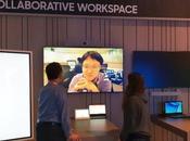soluciones pantallas interactivas Samsung toman escenario central