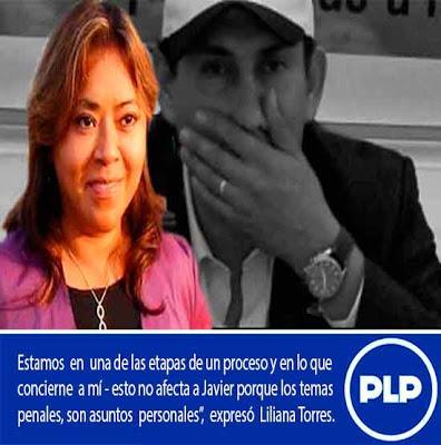 LILIANA TORRES SIGUE CON JAVIER ALVARADO…
