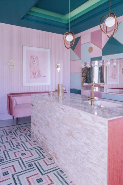 Casa Decor en clave rosa