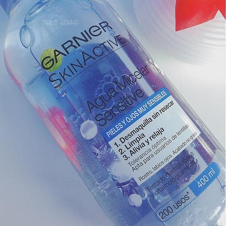 b587c21a7 Rewiew Agua Micelar Garnier - Paperblog