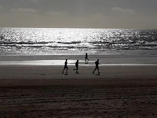 Playa para hacer deportes