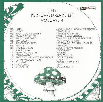 Una Arqueología de la Sicodelia Británica. The Perfumed Garden.