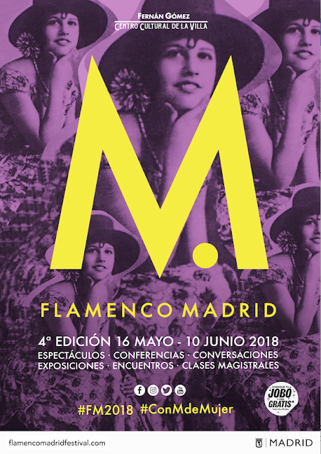 FLAMENCO MADRID, #CONMDEMUJER