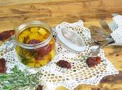 Queso marinado aceite oliva
