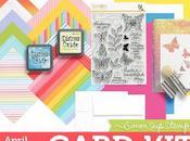 Tutorial: Targeta mágica, Card Simon Says Stamp Abril