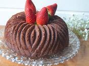 Bundt cake chocolate, almendra naranja
